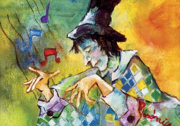 R 006 – D – 16 006 El arlequin pianista